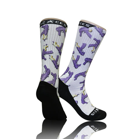 Purple Draco Socks