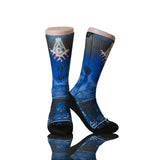 Mason Masonic Temple Socks