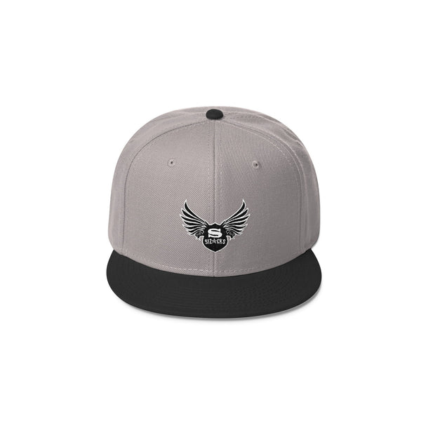 Sizocks Snapback Cap Combo Light Grey