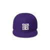 Skater Sizocks Snapback Cap White on Purple