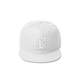 Skater Sizocks Snapback Cap White on White