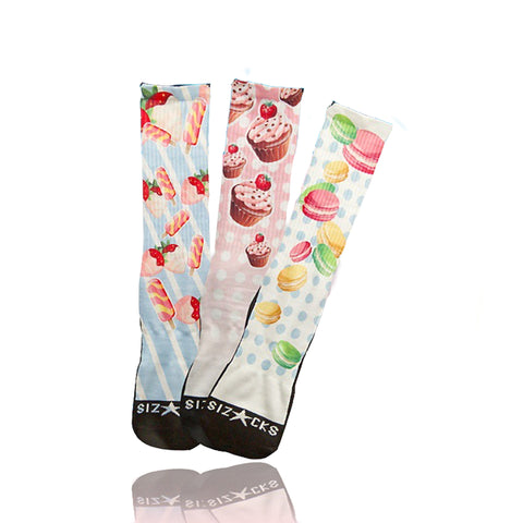 Sweet Shop 3-Sock Pack