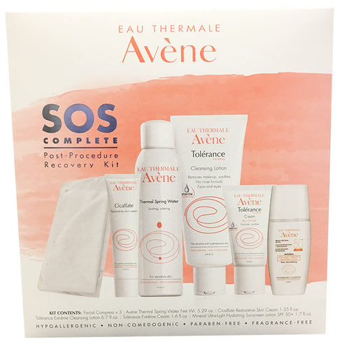 Avene SOS COMPLETE Post-Procedure Recovery Kit