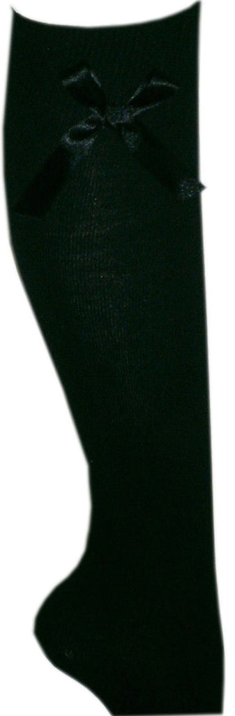 b27d49c50ab Spanish Style Knee High School Socks with Bows - Socks TINA JAYNE BOUTIQUE