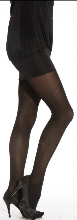 c0ea57b1a5a24 40 Denier Black Opaque Tights One Size To XXL - Hosiery TINA JAYNE BOUTIQUE