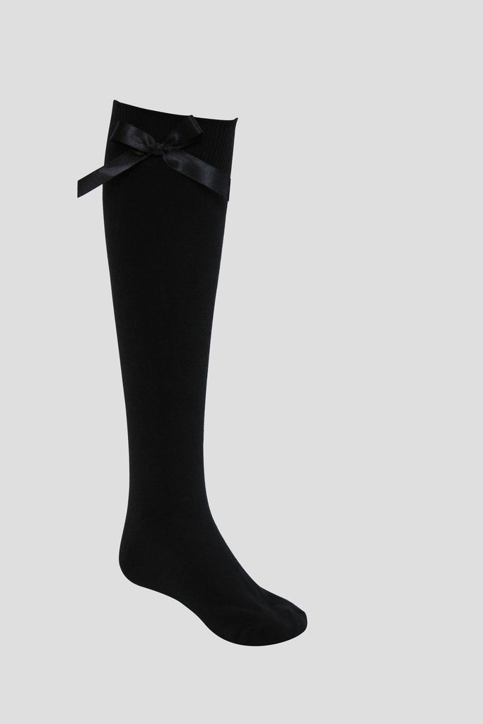 eb7936e756c Black Spanish Style Knee High School Socks with Bows - KNEE HIGH SOCKS TINA  JAYNE BOUTIQUE