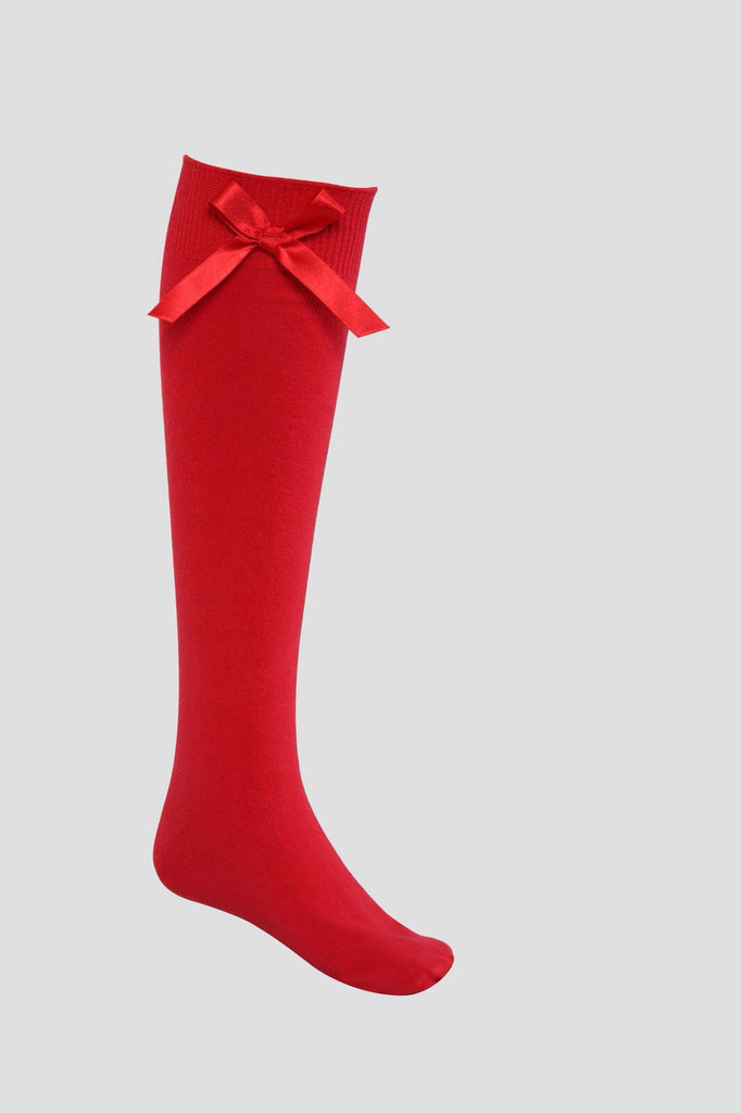 0258e1398c6 Red Spanish Style Knee High School Socks with Bows – TINA JAYNE BOUTIQUE