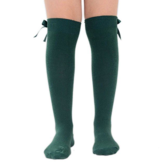 3cc04f4caa1 Dark Green Spanish Style Knee High School Socks with Bows – TINA JAYNE  BOUTIQUE