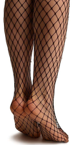 15a18bac8 Large Hole Fishnet Diamante Embellished Tights - Ladies Tights TINA JAYNE  BOUTIQUE