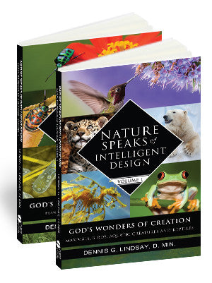 Nature Speaks of Intelligent Design, Vol. 1 & 2