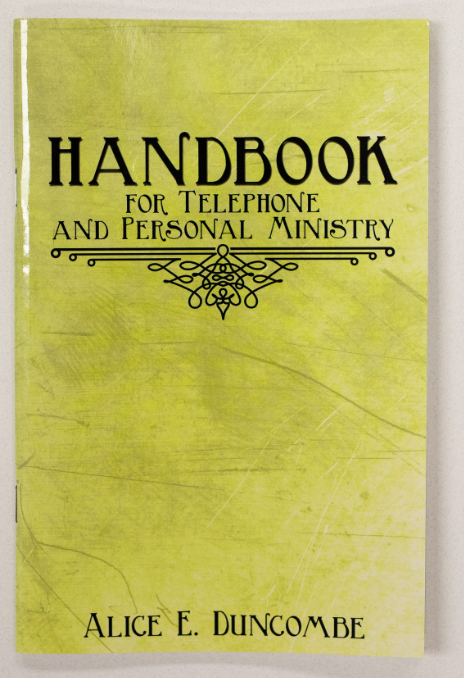 Handbook for Telephone and Personal Ministry