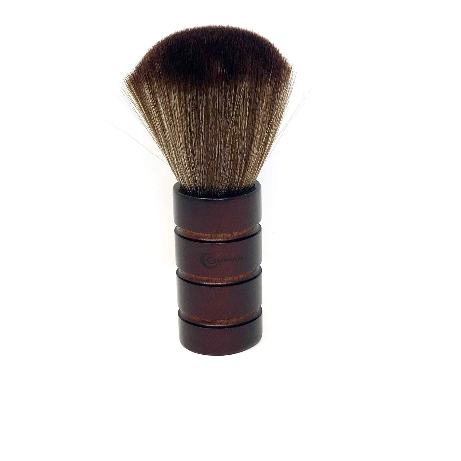 Omwah Professional Soft Barber Neck Face Duster Haircut Wooden