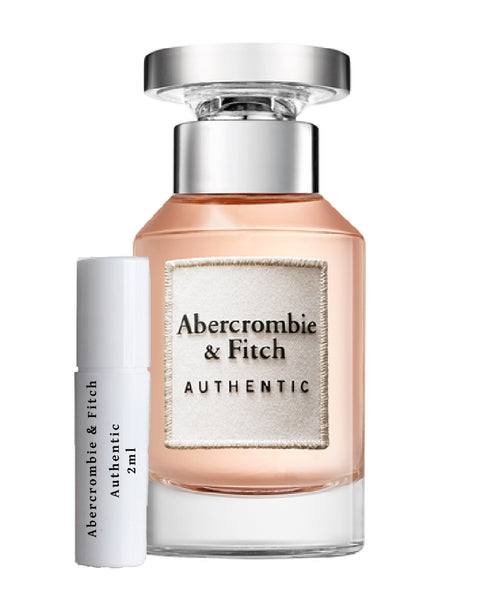 ABERCROMBIE & FITCH Authentic Women sample 2ml