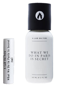 A Lab On Fire What We Do In Paris Is Secret prøver 2 ml