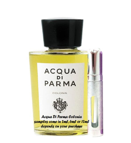 Acqua Di Parma Colonia samples