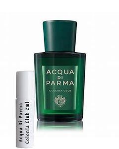 Acqua Di Parma Colonia Club samples 2ml