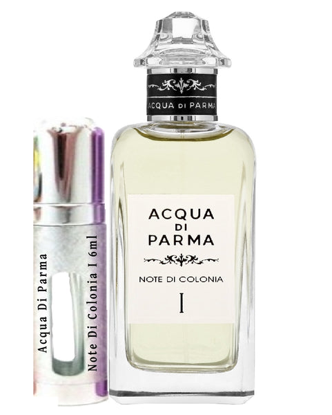 Acqua Di Parma Note Di Colonia I vzorky 6 ml