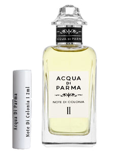 Acqua Di Parma Note Di Colonia أنا عينات 2 مل