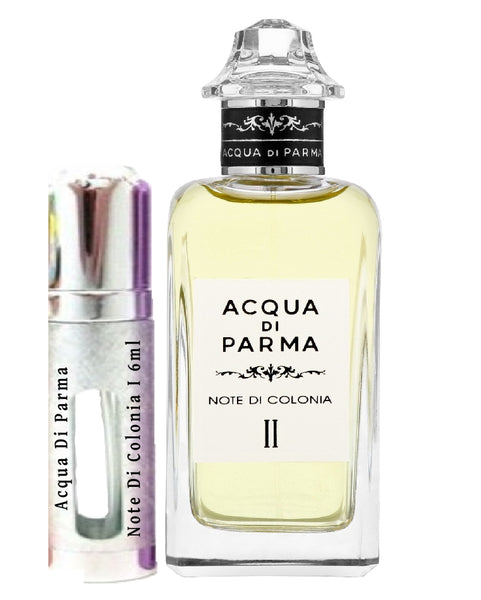 Acqua Di Parma Note Di Colonia أنا عينات 6 مل