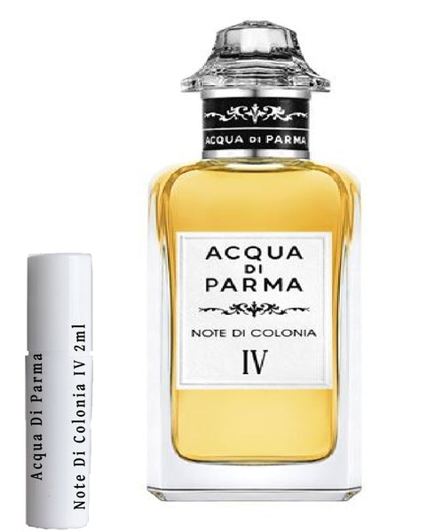 Acqua Di Parma Note Di Colonia IV samples 2ml