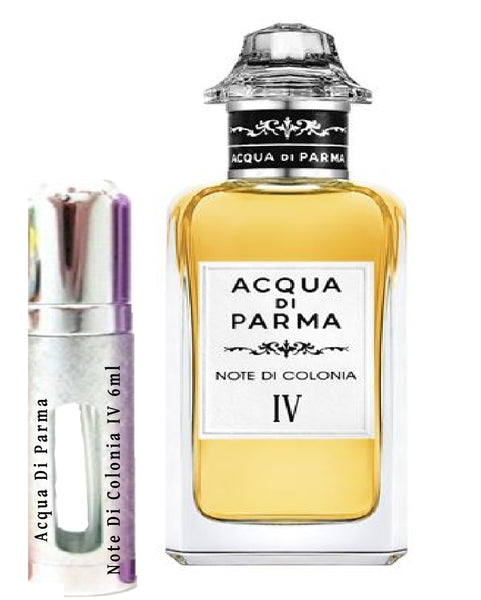 Acqua Di Parma Note Di Colonia IV samples 6ml