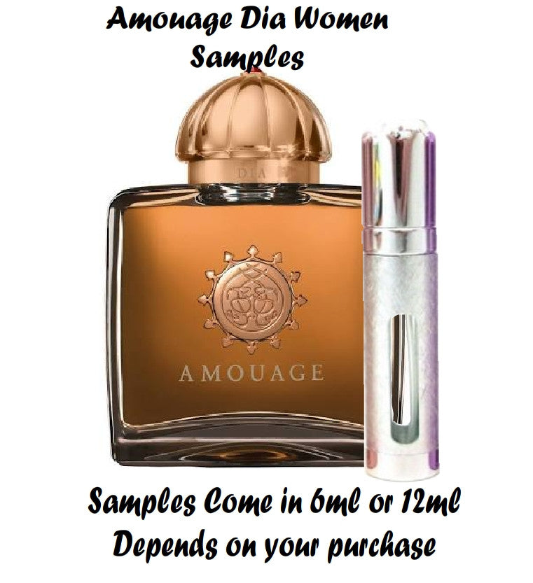 Amouage Dia Samples