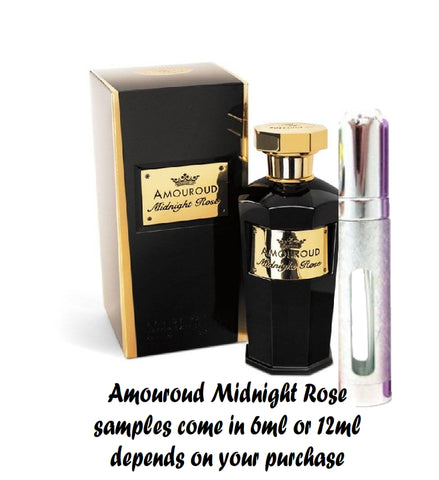 Amouroud Midnight Rose Samples