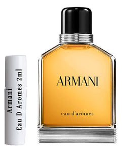 Armani  Eau D Aromes samples 2ml