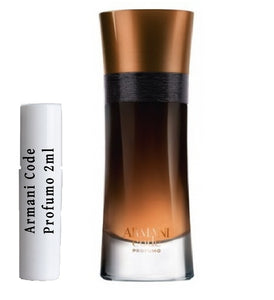 Armani Code Profumo samples 2ml