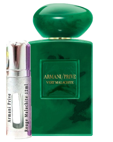 Armani Prive Vert Malachite samples 12ml