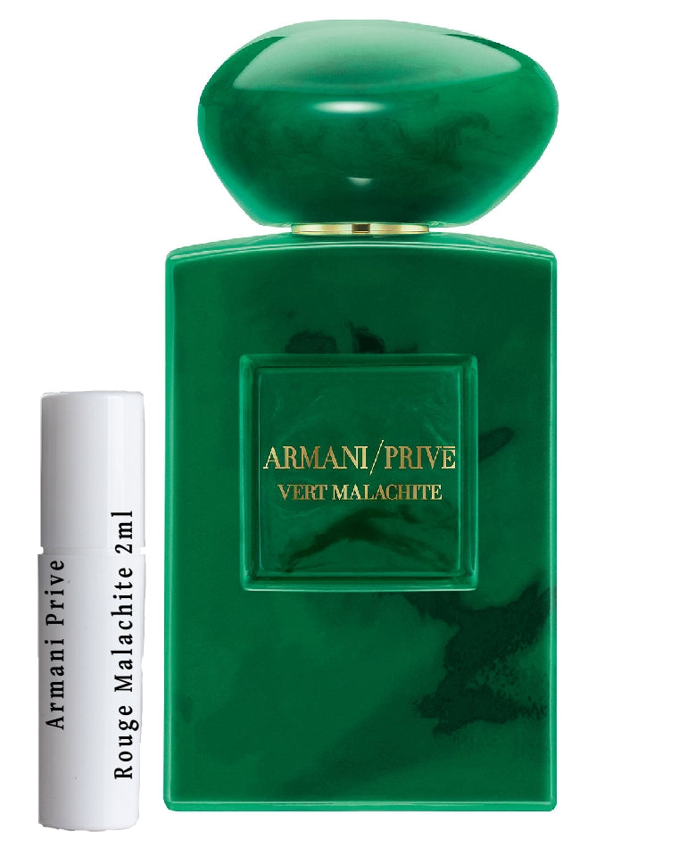 Armani Prive Vert Malachite samples 2ml