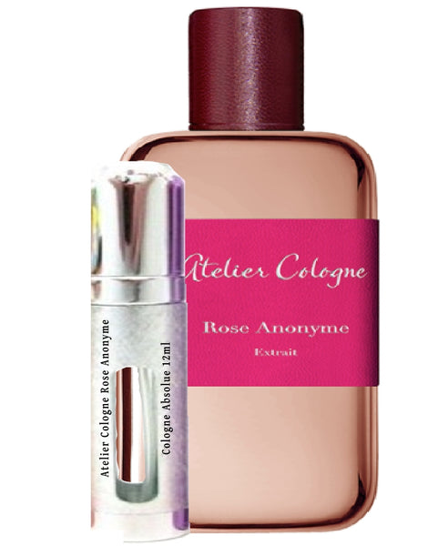 Atelier Cologne Rose Anonyme  Cologne Absolue samples 12ml
