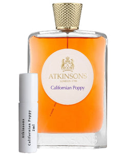Atkinsons Californian Poppy sample 2ml
