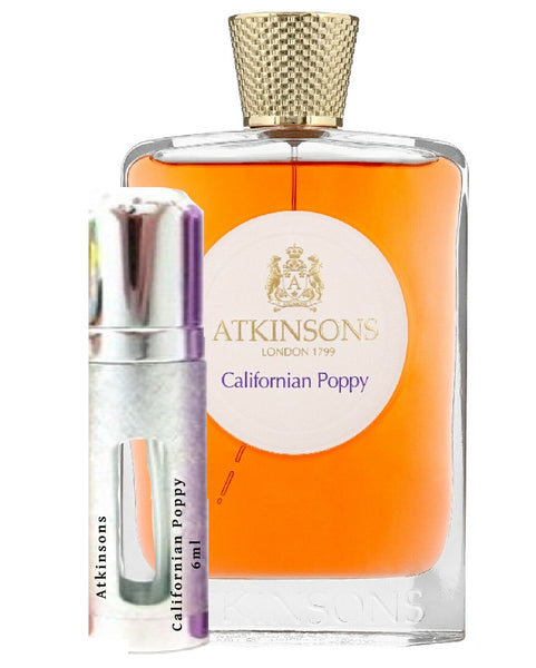Atkinsons Californian Poppy samples 6ml
