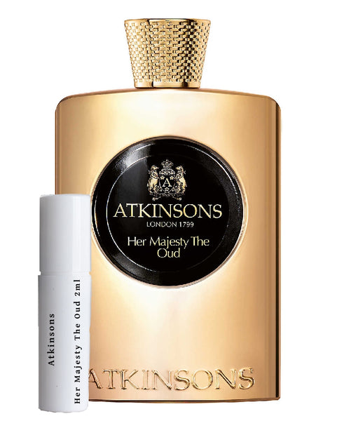 Atkinsons Her Majesty The Oud try me sample 2ml