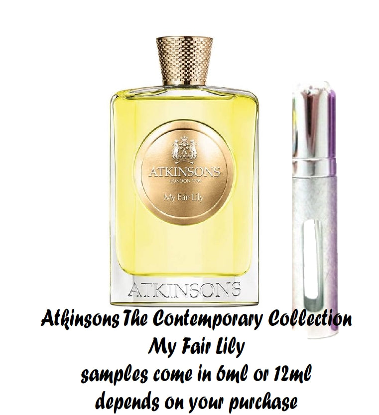Atkinsons The Contemporary Collection My Fair Lily Samples