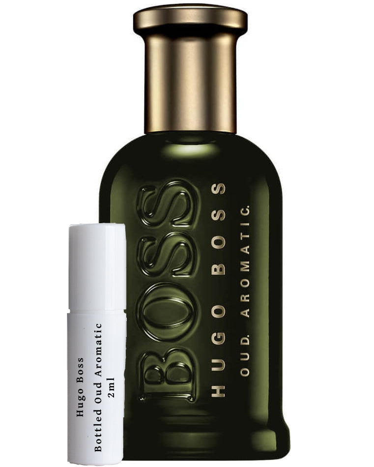 Hugo Boss Bottled Oud Aromatic sample 2ml