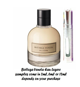 Bottega Veneta Eau Legere samples