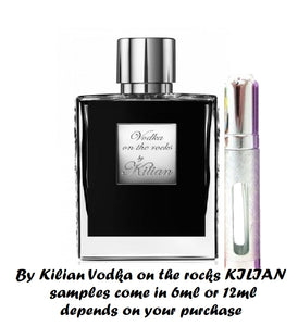By Kilian Vodka on the rocks samples