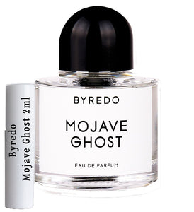 Byredo Mojave Ghost samples 2ml