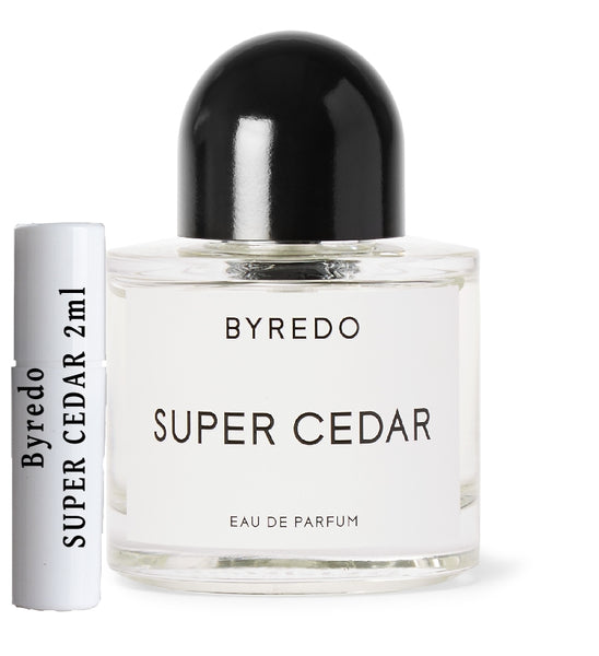 Byredo SUPER CEDAR samples 2ml