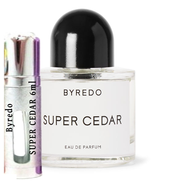 Byredo SUPER CEDAR samples 6ml