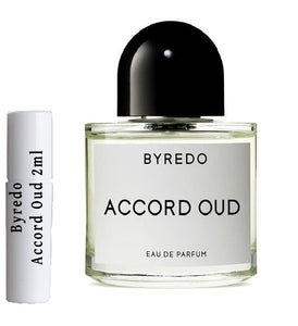 Byredo Accord Oud samples 2ml