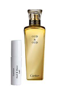 Cartier Oud & Musc sample vial spray 1ml