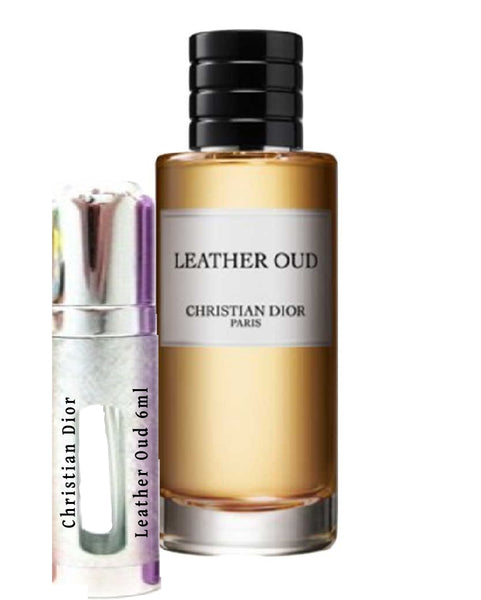 Christian DIOR Leather Oud samples 6ml