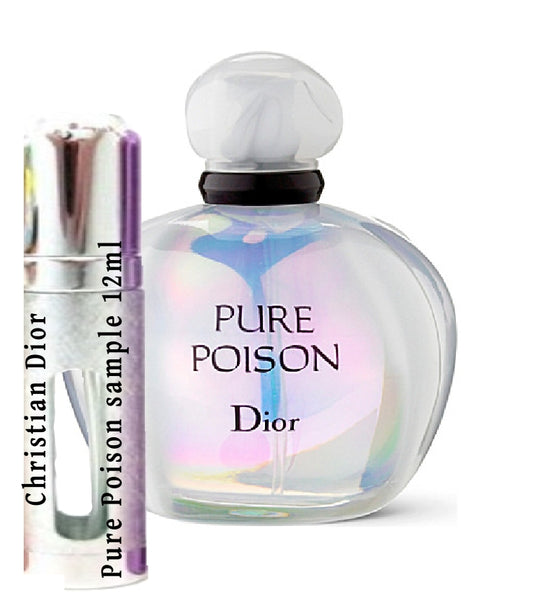 Christian Dior Pure Poison samples 12ml