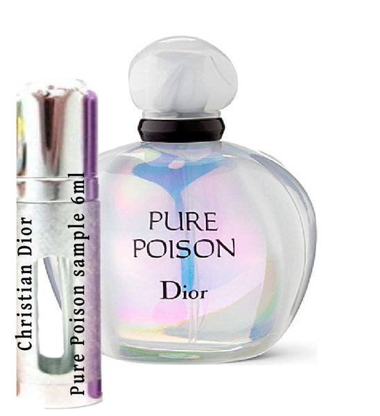 Christian Dior Pure Poison samples 6ml