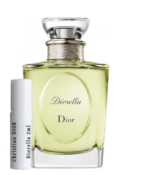 Christian DIOR Diorella sample vials