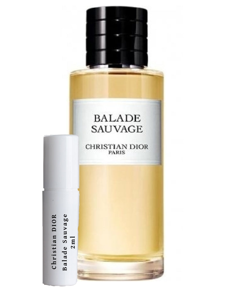 Christian DIOR Balade Sauvage sample 2ml