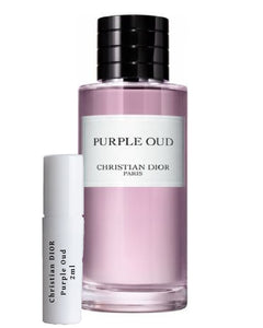 Christian DIOR Purple Oud samples